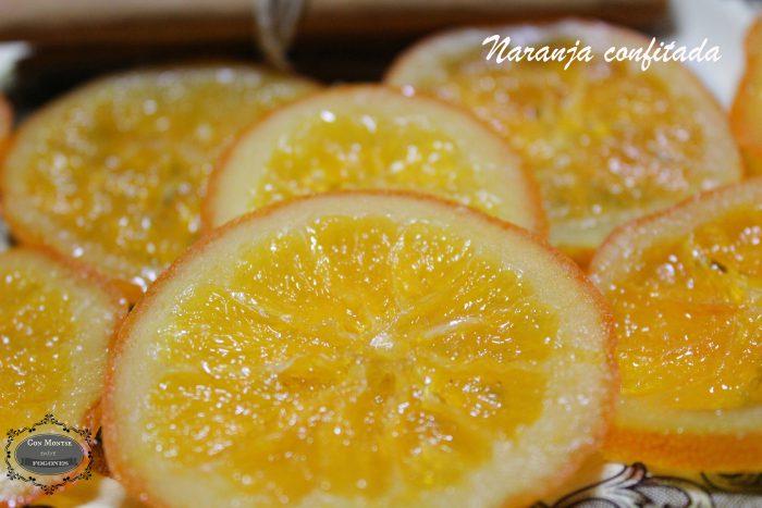 Naranajas confitadas II